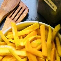 #266 mango con especias